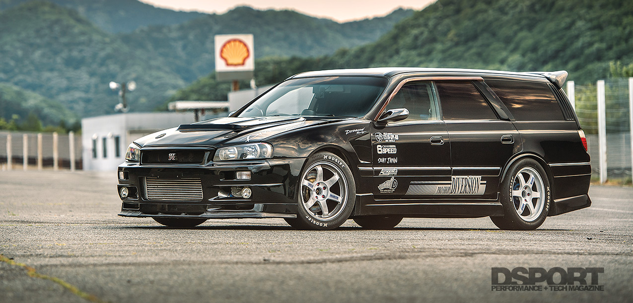 Mixed and Matched | 1000+HP Nissan Stagea - DSPORT Magazine