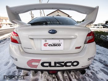Cusco STI Rear