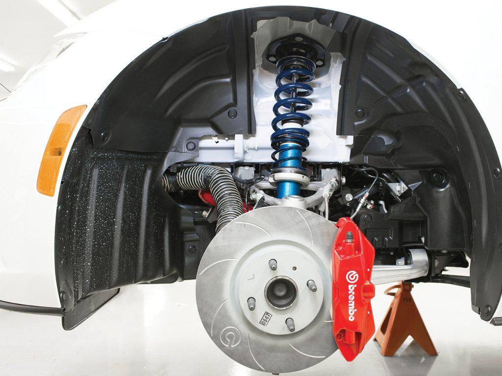 Mazda MX-5 Cup Car Brakes