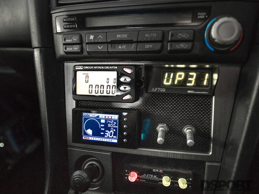 Advance R34 Center Console