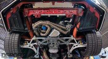 Subaru STI Underbody