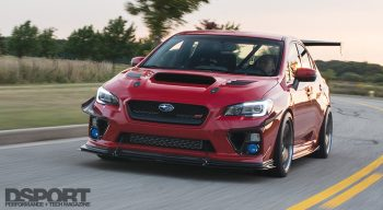 Subaru STI Front