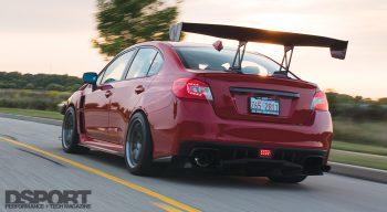 Subaru STI Rear