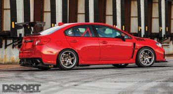 Subaru STI Side