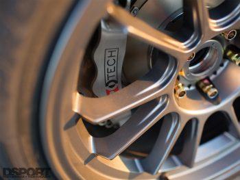 Savanna Little's 350z Konig Wheel