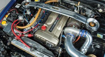 R34 Engine Bay