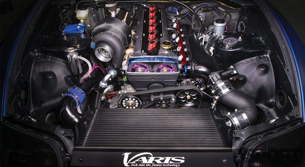 Varis Supra Engine Bay