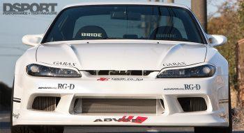 Taniguchi's S15 Front