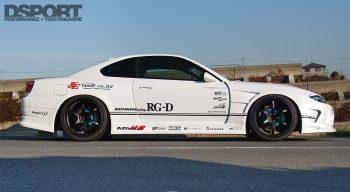 Taniguchi's S15 Side Profile