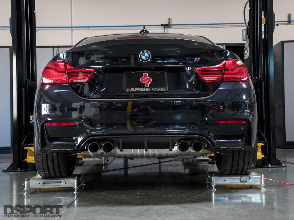 Supreme Power BMW M2 Rear