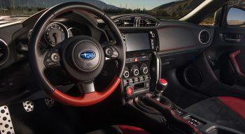 First Drive Wubaru BRZ ts STI Seats