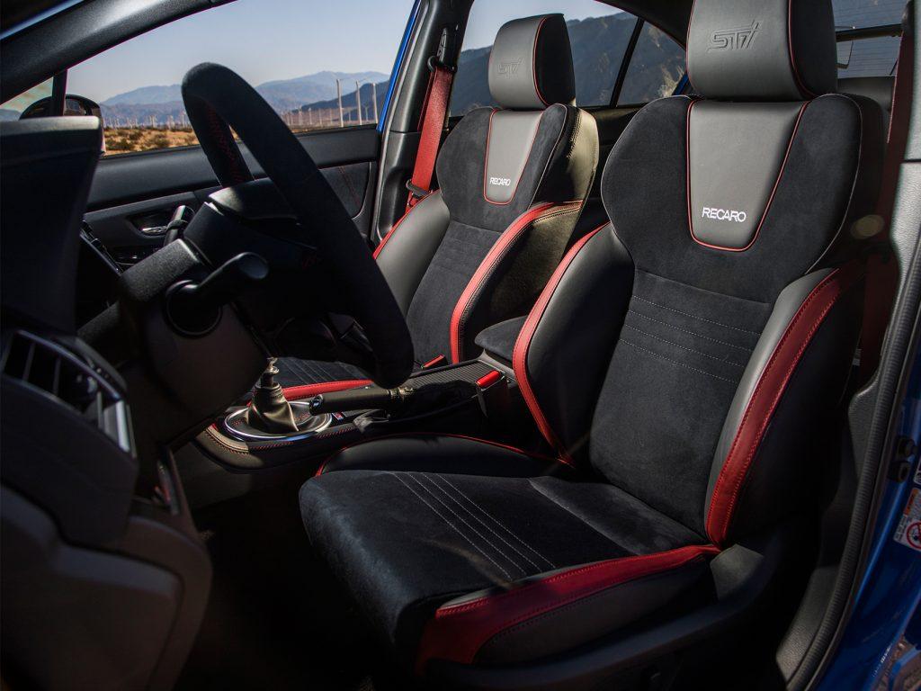 First Drive Wubaru BRZ ts STI Seat