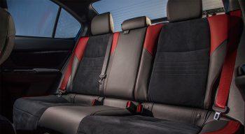 First Drive Wubaru BRZ ts STI Rear Seat