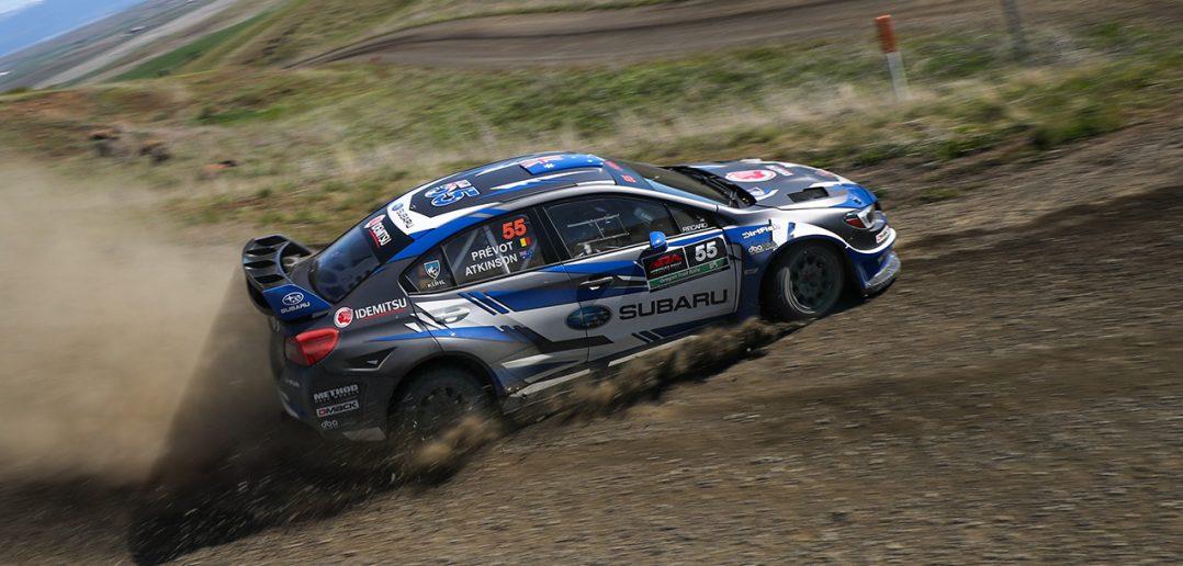 Subaru Rally Idemitsu Lead