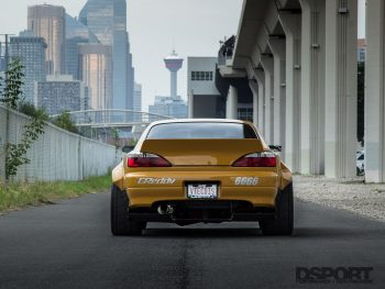 Rocket Bunny S15 Rear