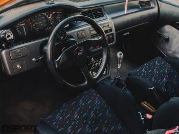 Supercharged Honda Civic Interior