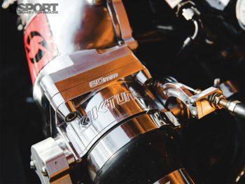Supercharged Honda Civic Throttle Body