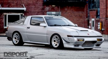 1JZ Mitsubishi Starion front side