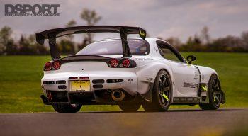 Mazda RX-7 Rear