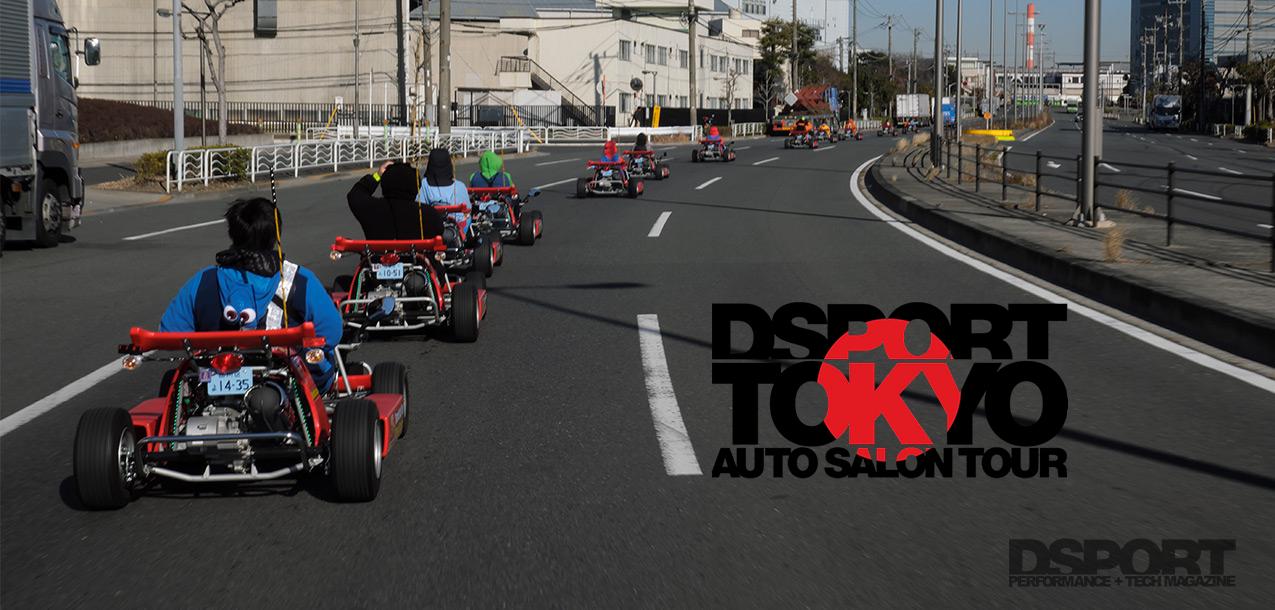 Tokyo Auto Salon Tour Mari Car Lead