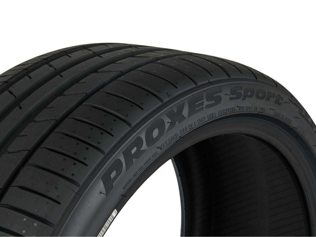 86 Challenge Toyo Tires Proxes Sport Sidewall