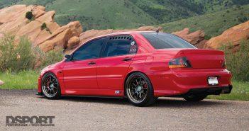 Mitsubishi Evo RS Lead
