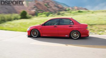 Mitsubishi Evo RS Rolling Shot