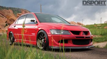 Mitsubishi Evo RS Front