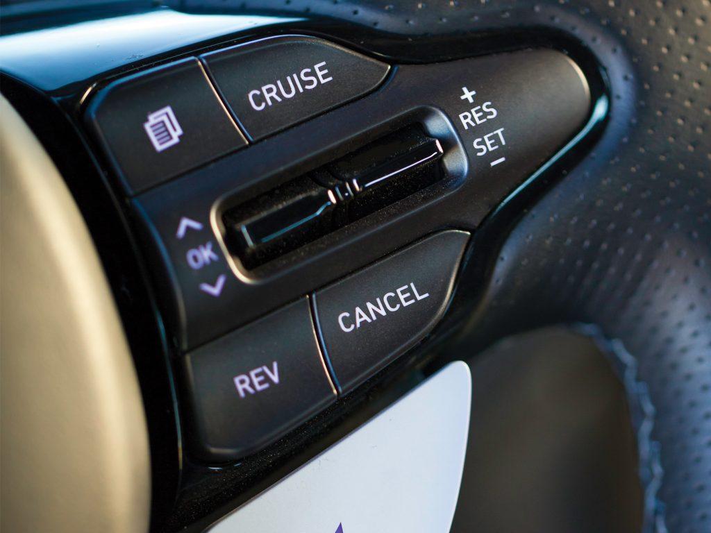 Hyundai Veloster N Button
