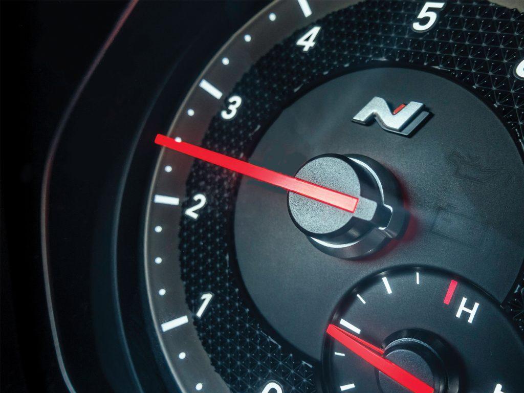 Hyundai Veloster N Gauge