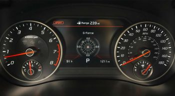 Kia Stinger GT2 Gauges