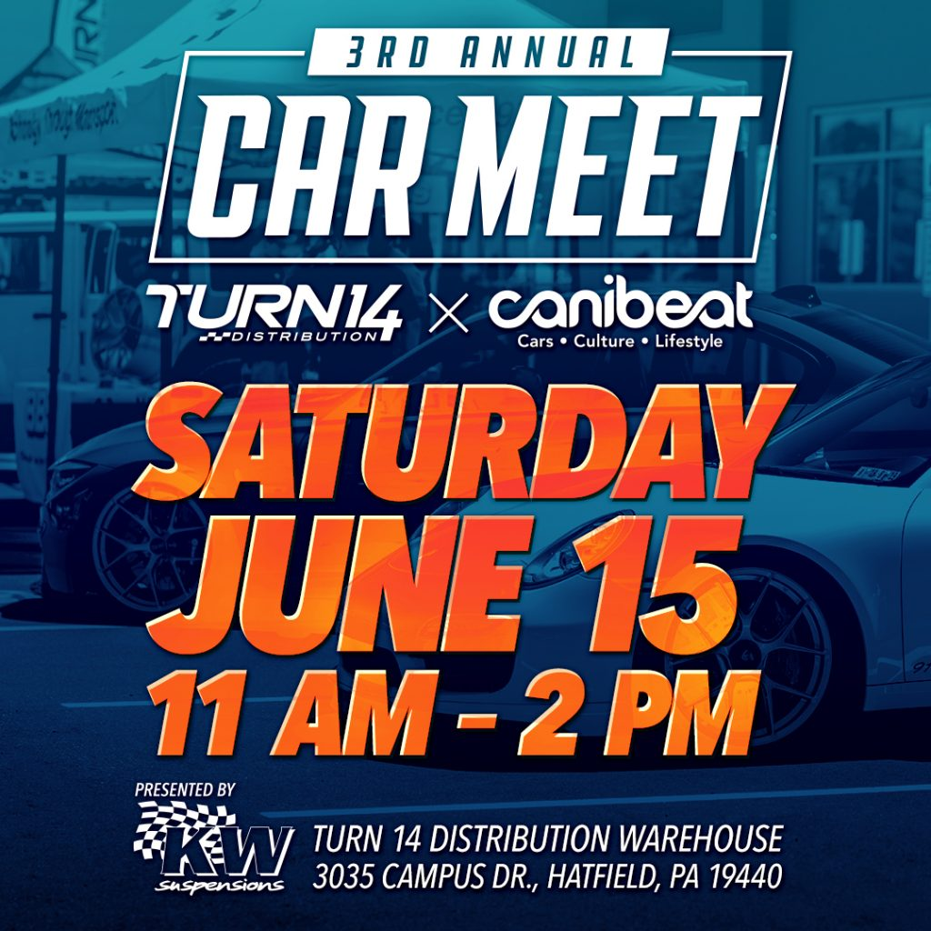 Turn 14 Meet Flyer
