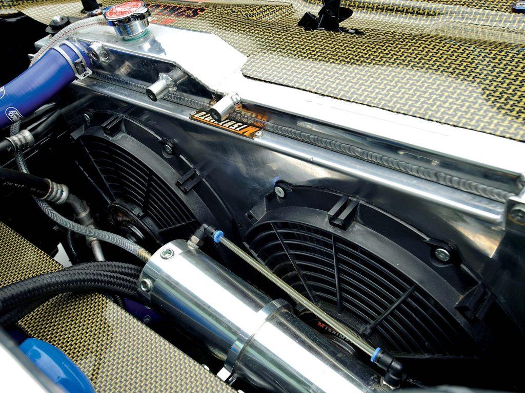 Track Prep Radiator