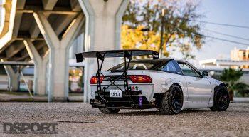 240SX Rear