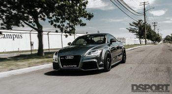 Audi TT RS Rolling