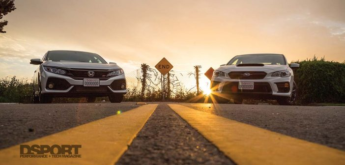 D'Garage Battle: 2019 Subaru WRX vs 2019 Honda Civic Si