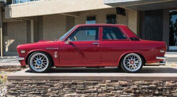 Datsun 510 Side Profile