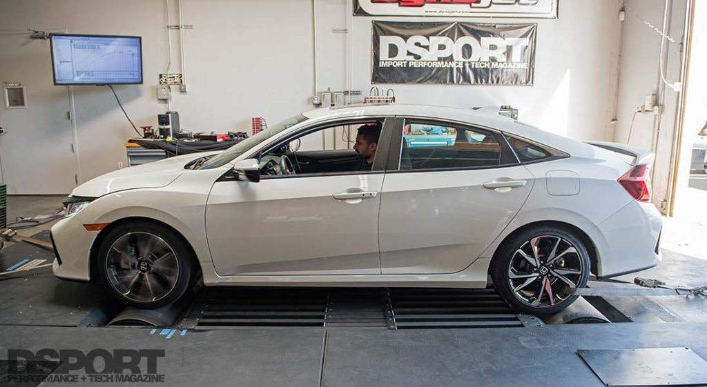 2019 Honda Civic Si Dyno
