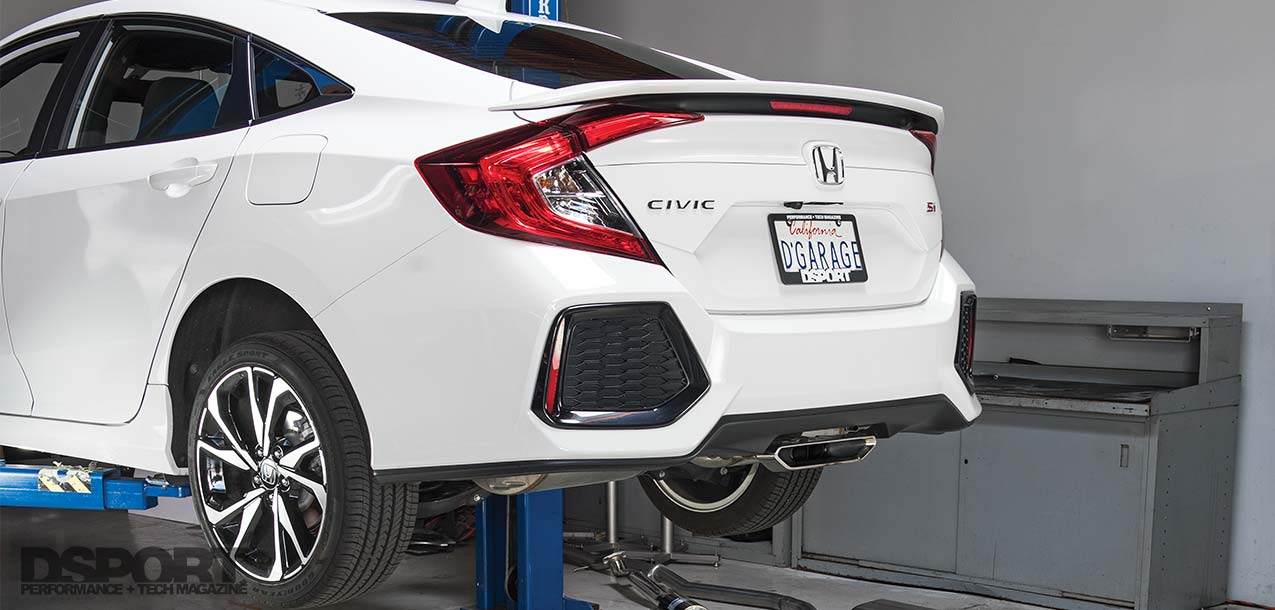 2019 Honda Civic Si Sedan Exhaust Showcase Dsport Magazine