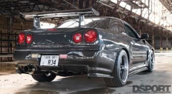 Nissan R34 GTT Rear