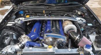 Nissan R34 GTT Engine Bay