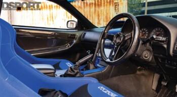 Nissan R34 GTT Interior