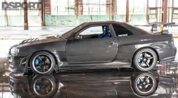 Nissan R34 GTT Side Profile