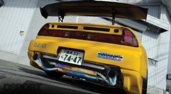 ADVANCE NSX Rear