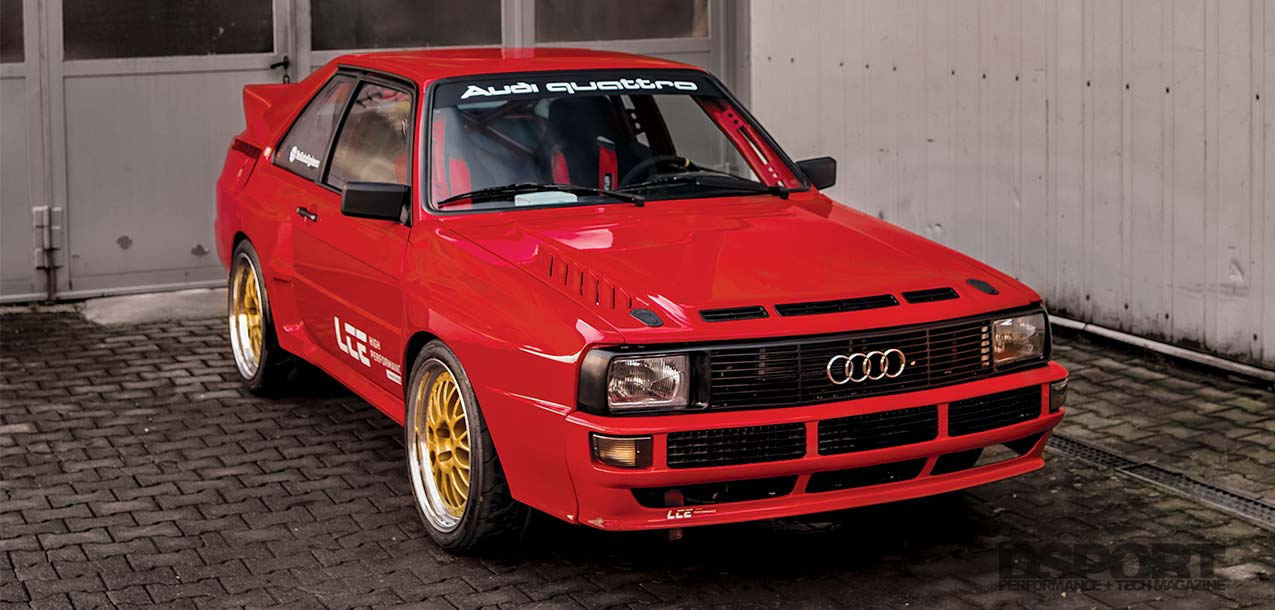 Audi Sport Quattro Lead