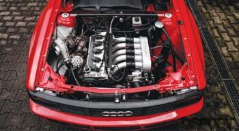 Audi Sport Quattro Engine Bay