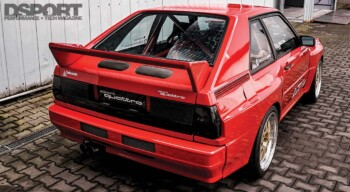 Audi Sport Quattro Rear