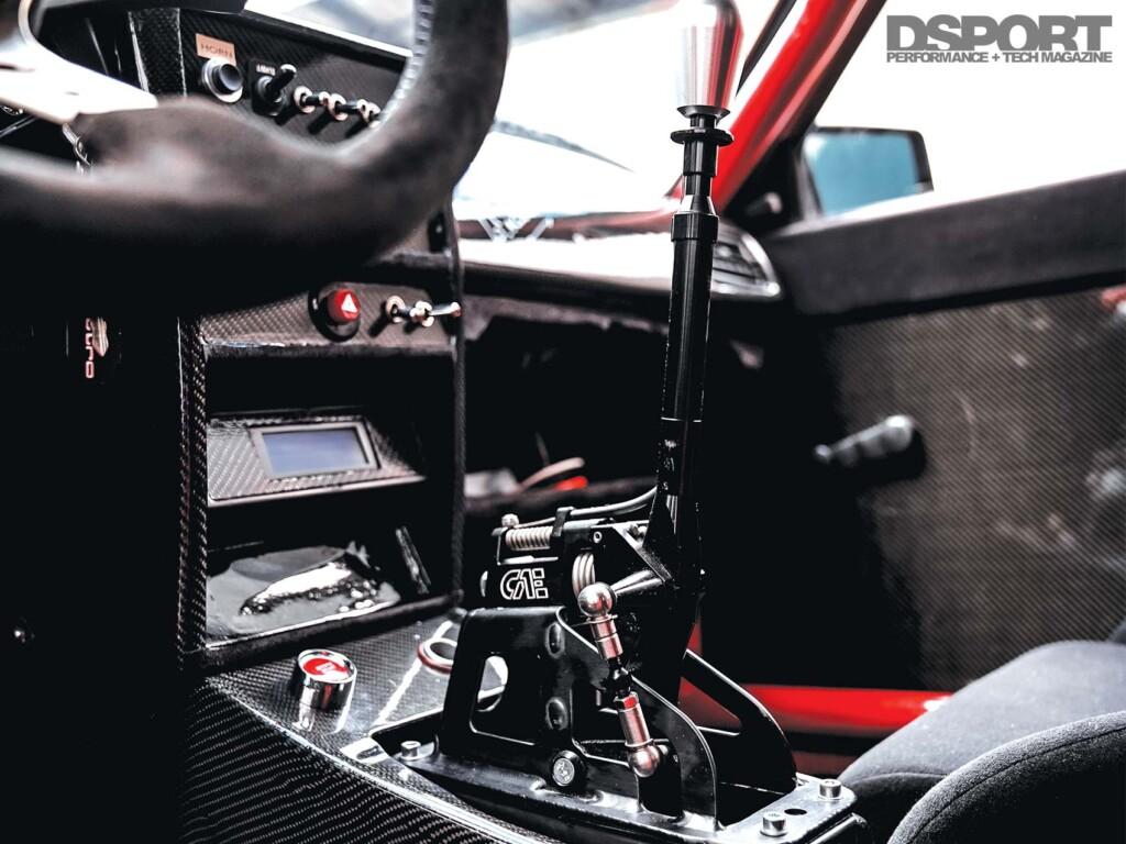 Audi Sport Quattro Center Console