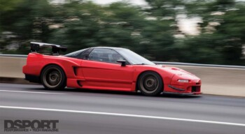Supercharged Acura NSX
