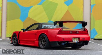 Supercharged Acura NSX Rear
